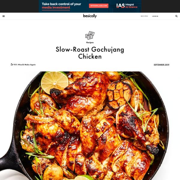 Slow-Roast Gochujang Chicken Recipe