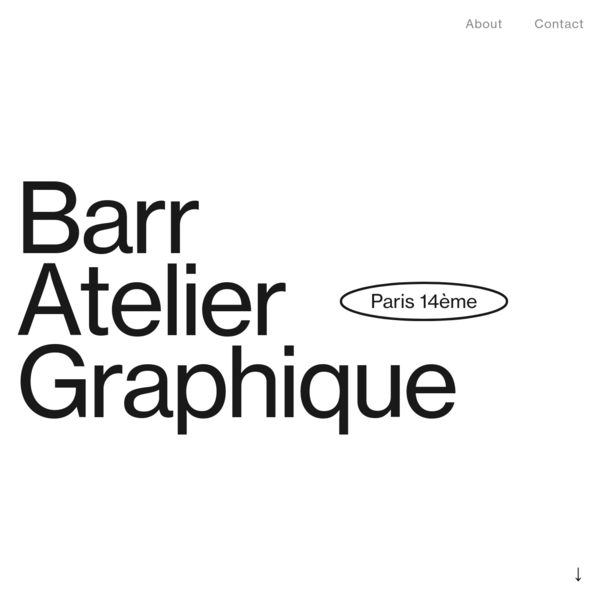 Barr Atelier Graphique