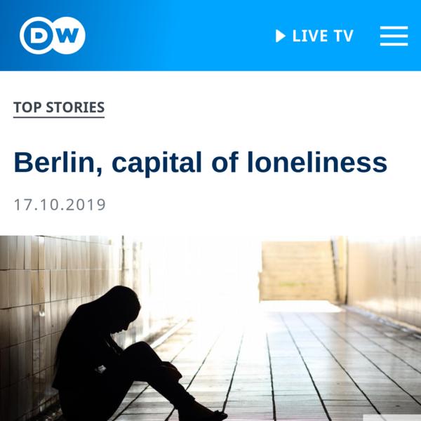 Berlin, capital of loneliness