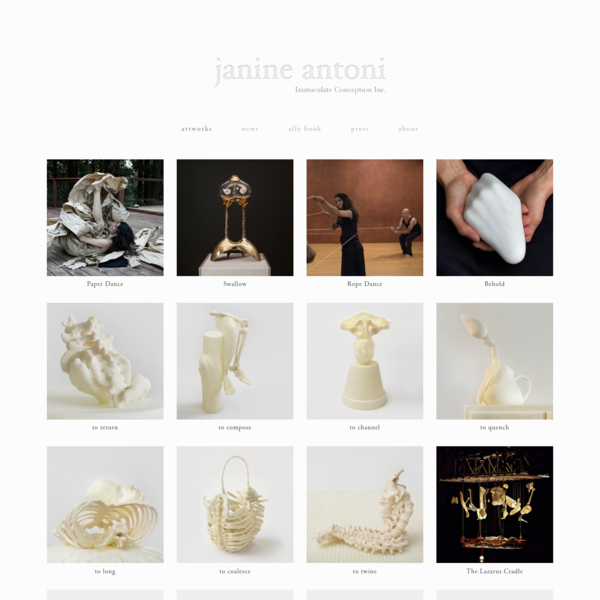 Janine Antoni