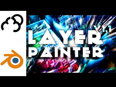 Blender add-on Layer Painter Review