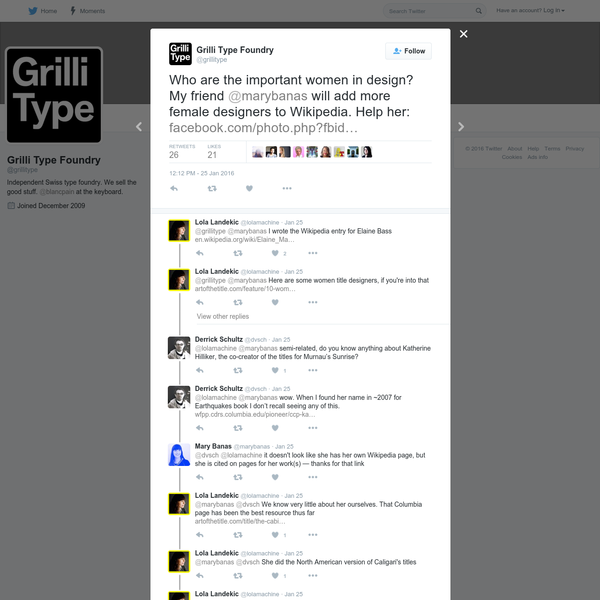 Grilli Type Foundry on Twitter