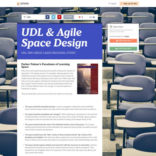 UDL & Agile Space Design