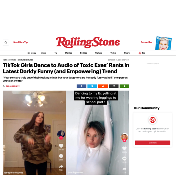 TikTok Girls Dance to Audio of Toxic Exes' Rants in Latest Darkly Funny (and Empowering) Trend
