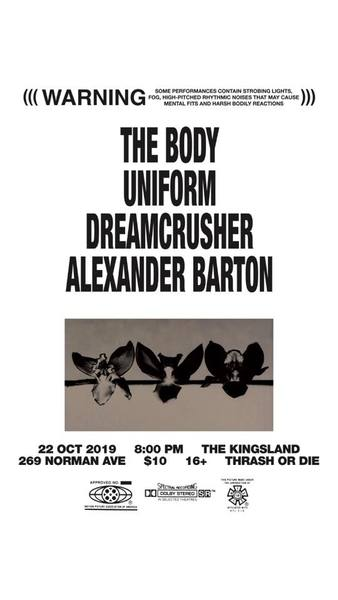 The Body @ The Kingsland