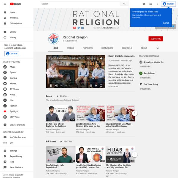 Rational Religion