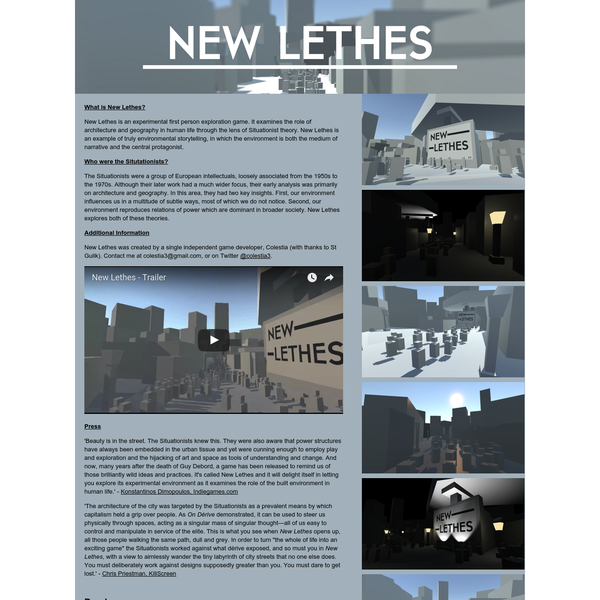 New Lethes by Colestia