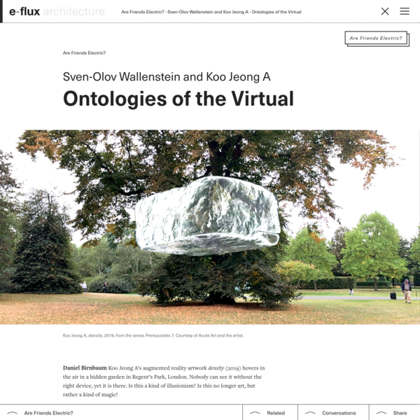 Ontologies of the Virtual