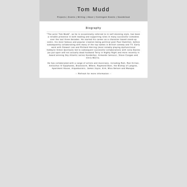 Tom Mudd