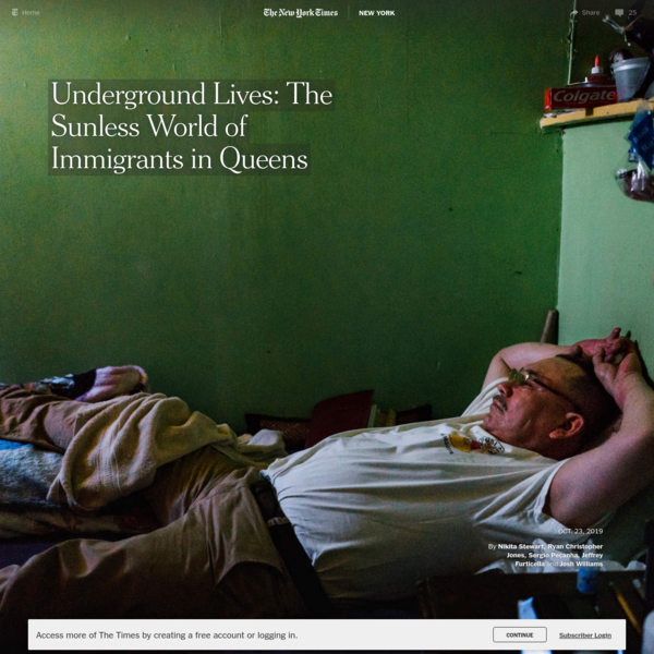 Underground Lives: The Sunless World of Immigrants in Queens