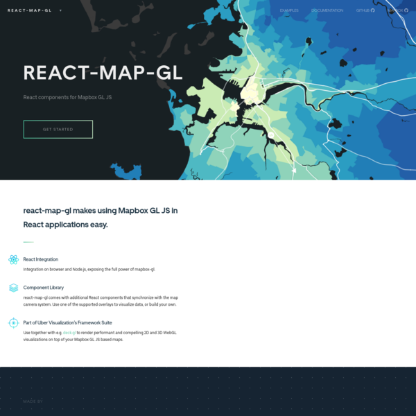 React components for Mapbox GL JS