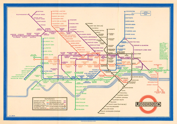 How the electric circuit inspired London's tube map | Design | Agenda | Phaidon