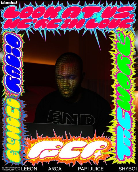 frank ocean prep poster