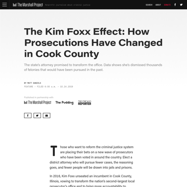 The Kim Foxx Effect: How Prosecutions Have Changed in Cook County