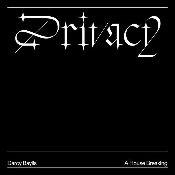 Cover lettering and design for 'Privacy' by @darcyebaylis on @burningroserecords. Caption is set in #DiatypeTypeface by @abc...