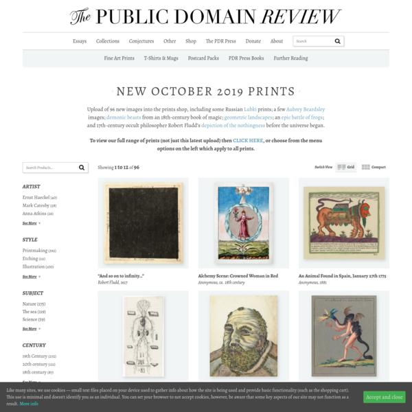 New October 2019 Prints