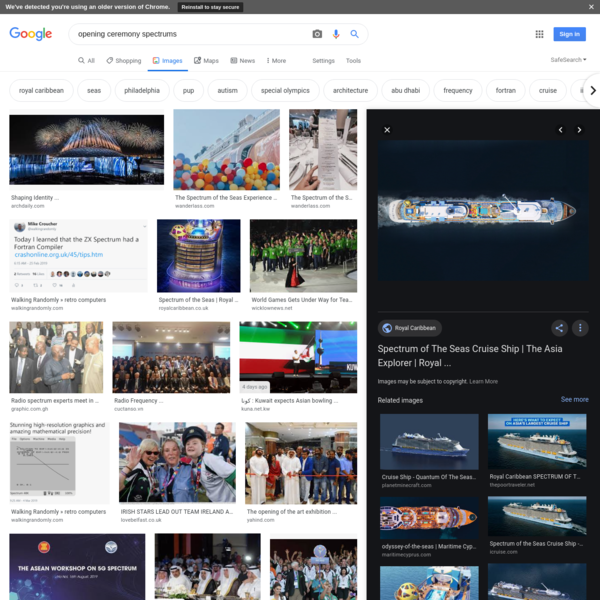 opening ceremony spectrums - Google Search