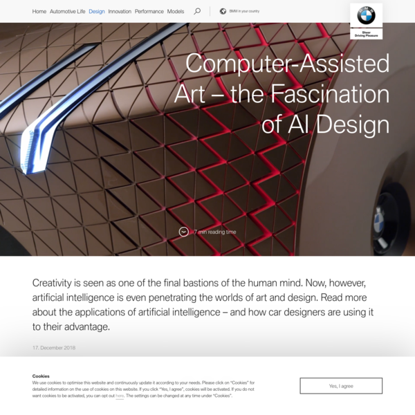 Artificial intelligence gets artistic: the creative potential of AI | BMW.com
