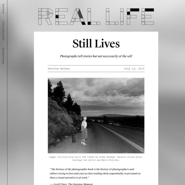 Still Lives - Real Life