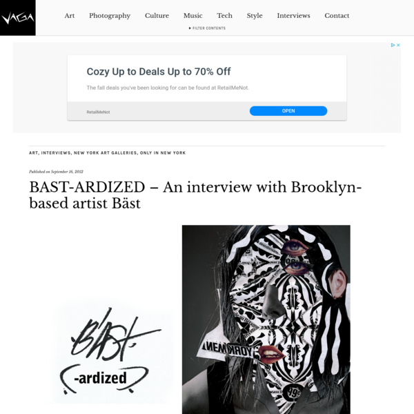 BAST-ARDIZED - An interview with Brooklyn-based artist Bäst