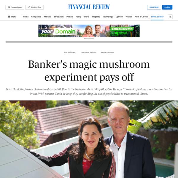 Banker's magic mushroom experiment pays off