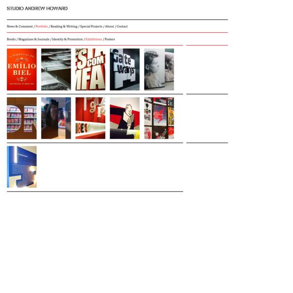 Exhibitions / studio andrew howard