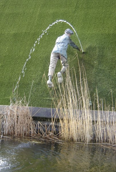 """For tourism purposes, statues of the fictional dike-plugging boy have been erected in Dutch locations such as Spaarndam, Madurodam and Harlingen. The statues are sometimes mistakenly titled """"Hans Brinker""""; others are known as """"Peter of Haarlem"""". The story of the dike-plugging boy is, however, not widely known in the Netherlands — it is a piece of American, rather than Dutch, folklore."""