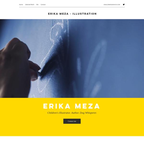 Erika Meza - Children Illustration