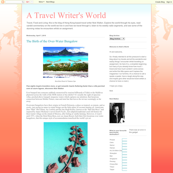 A Travel Writer's World