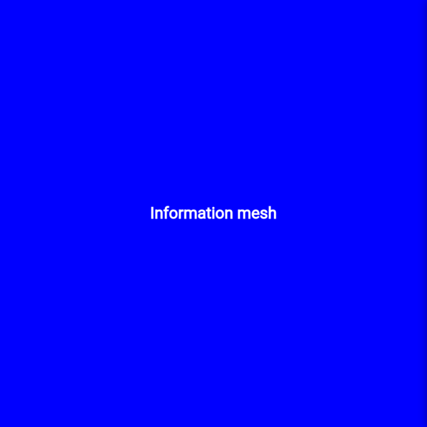 Information mesh