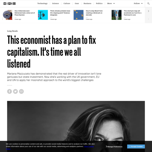 This economist has a plan to fix capitalism. It's time we all listened