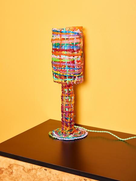Chris Wolston Serpentina lamp