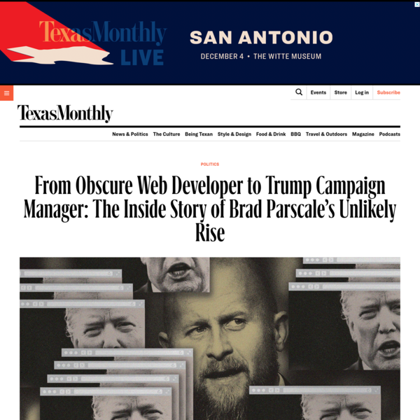 Brad Parscale Won Big in 2016. Can He Win Again as Donald Trump's Campaign Manager?