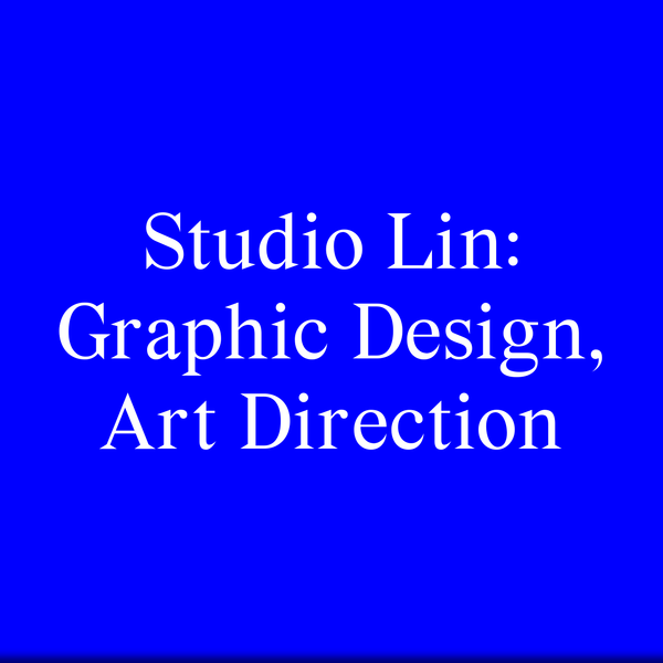 Studio Lin is a graphic design practice in New York City. We create books, identities and websites for local and international clients. Our work applies a visual language that is thoroughly researched yet easily assimilated. Our transparent work process, and the fact that many of our clients are engaged with art and design, often means that projects are more collaborative than commissioned.