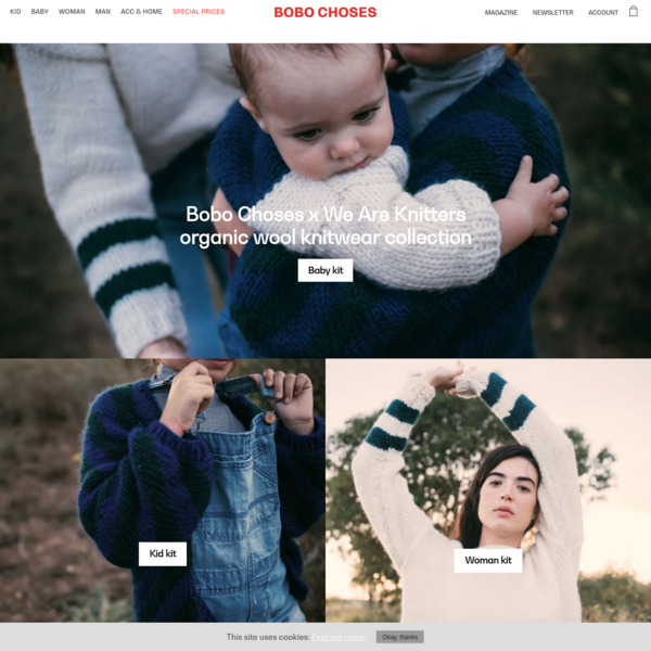 Bobo Choses: Clothing & Accessories - Official Online Store. Have fun!