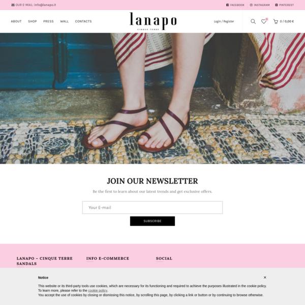 lanapo - Cinque Terre Sandals