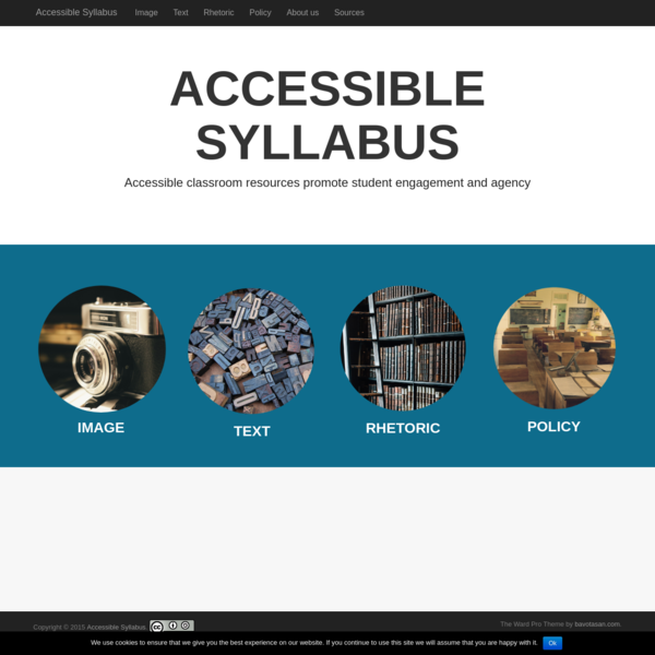 Accessible Syllabus