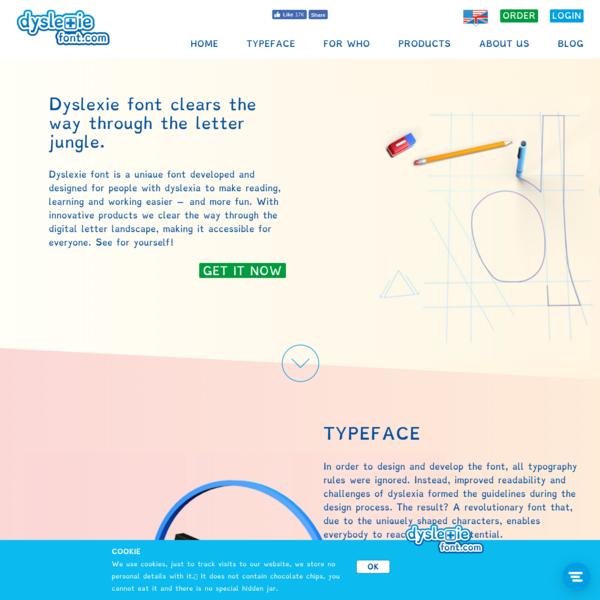 Dyslexie Font - Home