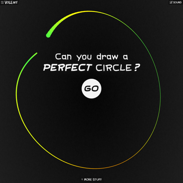 Can You Draw a Perfect Circle? ⭕️💯