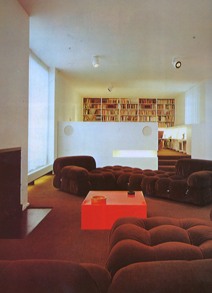 Franzen Apartment, new York, Ulrich Franzen 1977