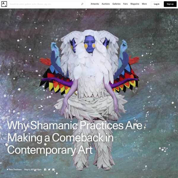 Why Shamanism Is Making a Comeback in Contemporary Art