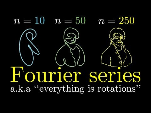 But what is a Fourier series? From heat flow to circle drawings | DE4