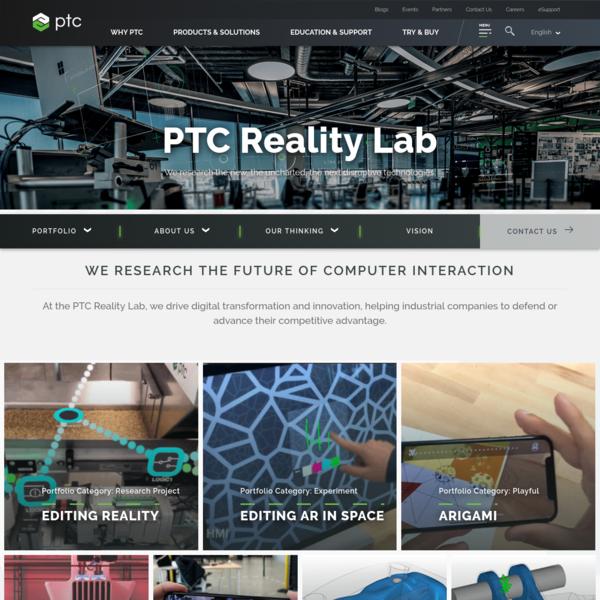 PTC Reality Lab