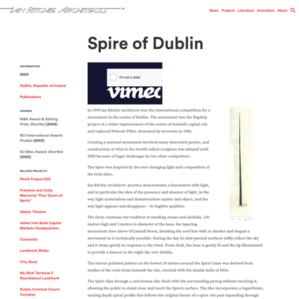 Spire of Dublin - Ian Ritchie Architects