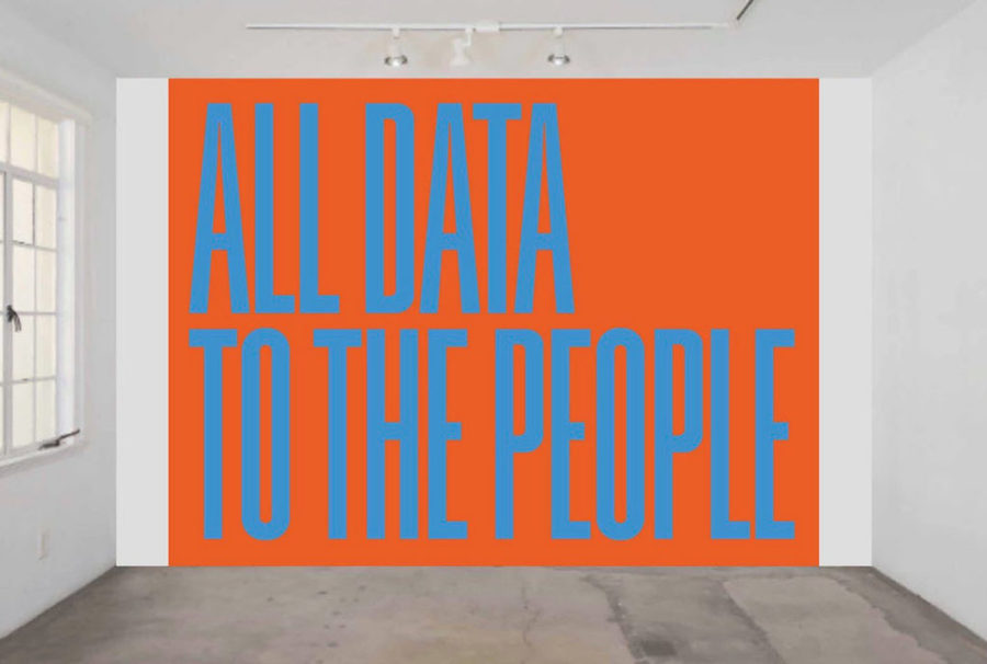 Superflex, All Data to the People (2018). Courtesy of 1301PE.