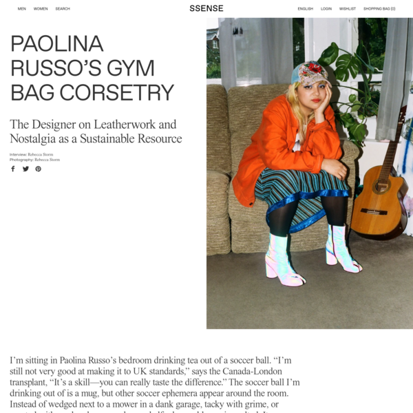 Paolina Russo's Gym Bag Corsetry