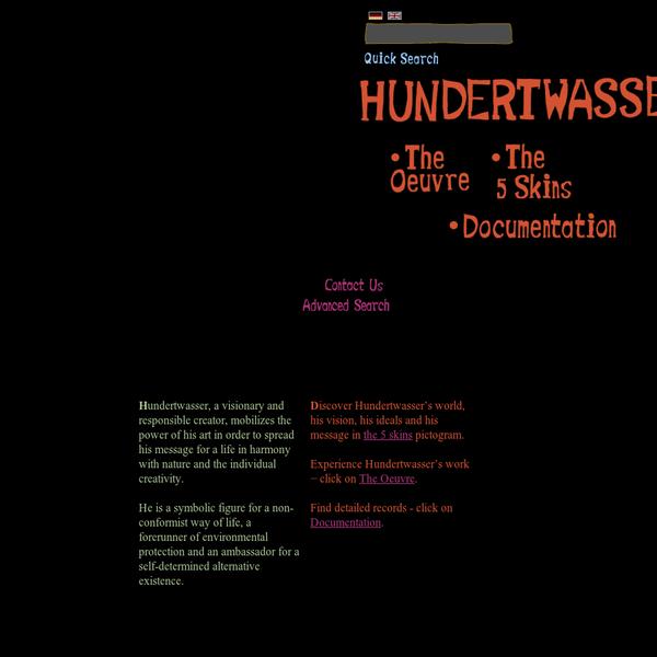 Hundertwasser - Official website