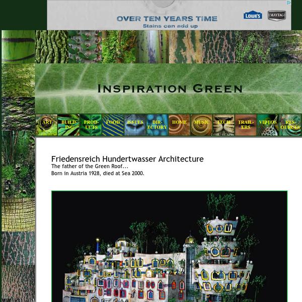 Hundertwasser Architecture