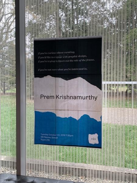 Riya's poster for Prem's talk