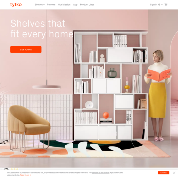 Tylko: The Perfect Shelf for Your Home